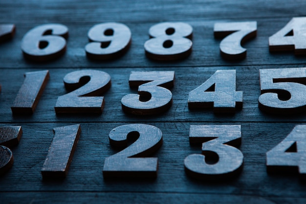 Концепция данных финансов. бесшовный фон с числами. концепция финансового кризиса.