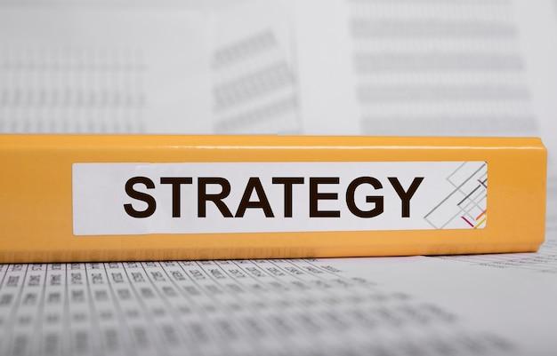 금융 비즈니스 전략 단어, 문서에 비문.