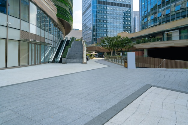 Financial center plaza and office building, chongqing, china