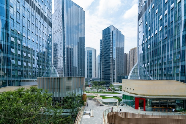 Financial center plaza and office building chongqing china