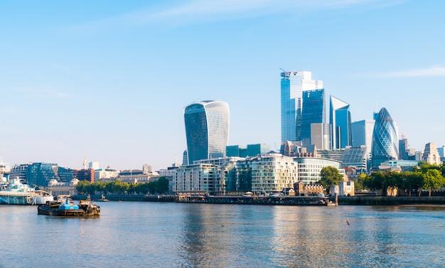 ロンドンの金融街