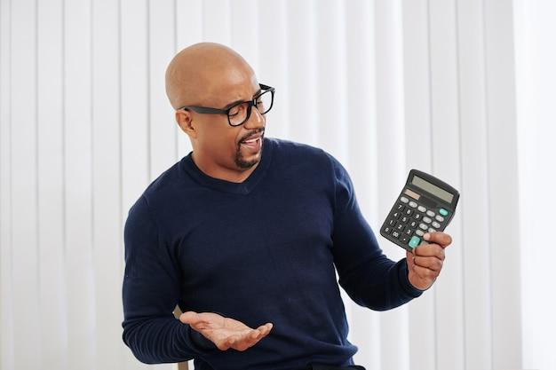 Финансовый менеджер с калькулятором