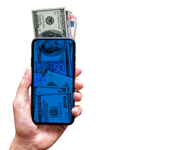 Финансовая онлайн-концепция