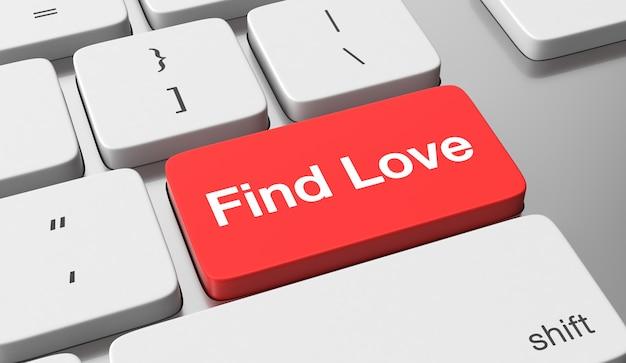 Поиск текста любви на клавиатуре