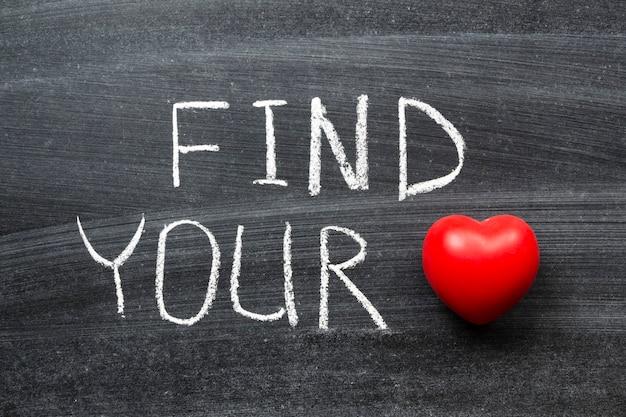 学校の黒板に手書きのあなたの愛のフレーズを見つける