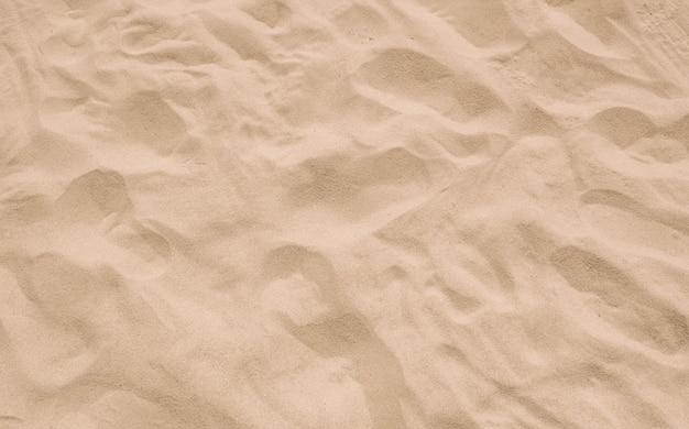 Fine beach sand beautiful smooth texture in nature beach.
