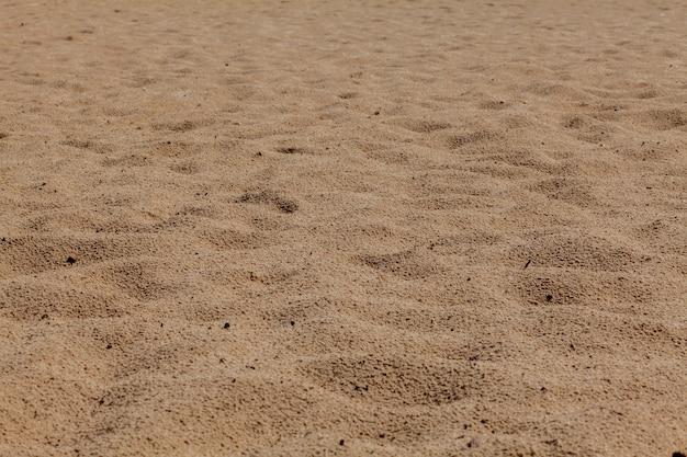 Fine beach sand in the summer sun.
