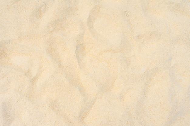 Fine beach sand too view.