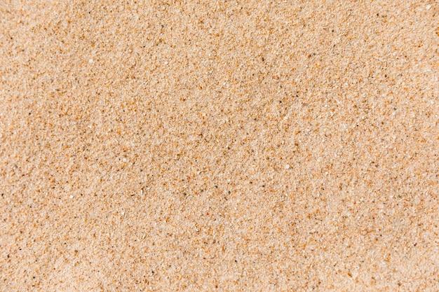 Fine sand on beach