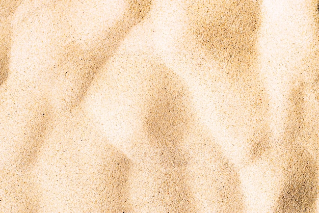 Fine sand texture of beach