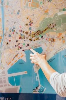 Карта указаний пальцев
