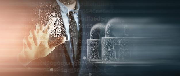 Сканирование отпечатков пальцев обеспечивает безопасный доступ с биометрической идентификацией