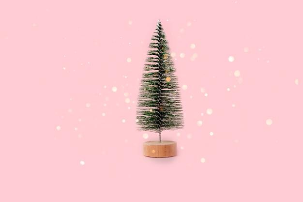 モミの木のクリスマスと新年