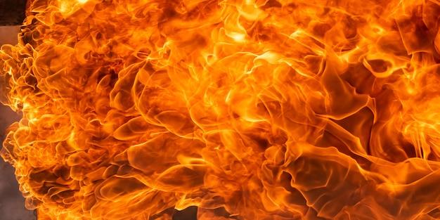Огненный фон
