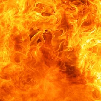 Fire burst texture in square ratio