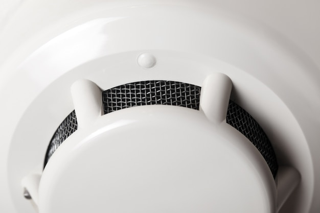 Fire detector close-up image