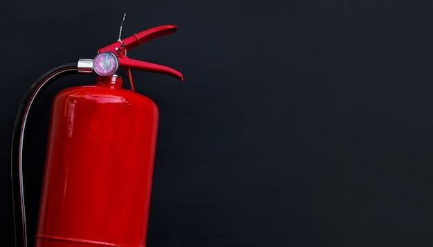Огнетушитель изолирован