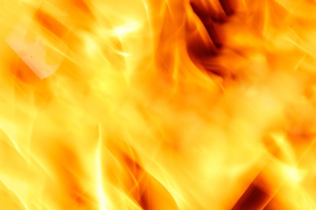 Фон пламени огня. вертикальная рамка.