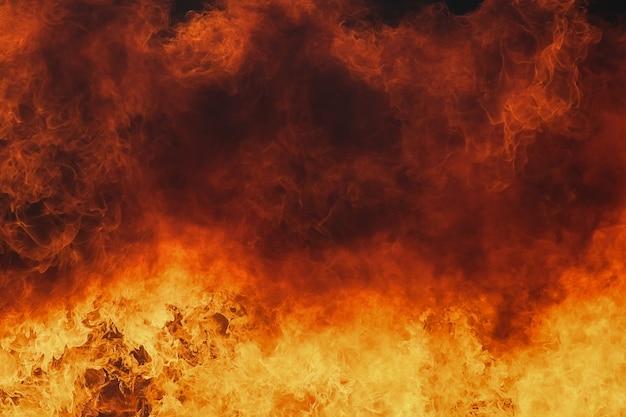 Текстура пламени огня