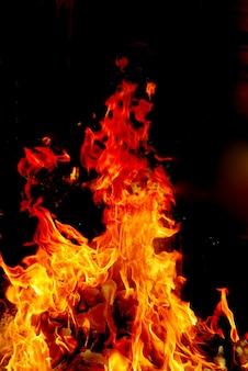 Fire is on