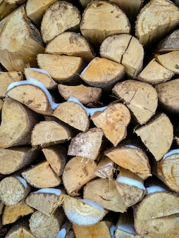 Фон дров. куча дров. дрова сухие дрова в куче для растопки печи.