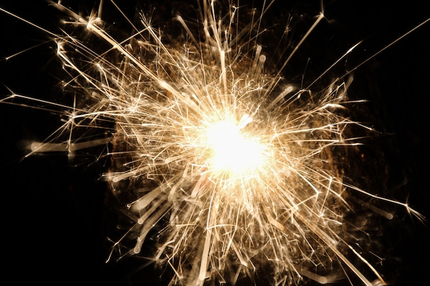 Firework on the floor