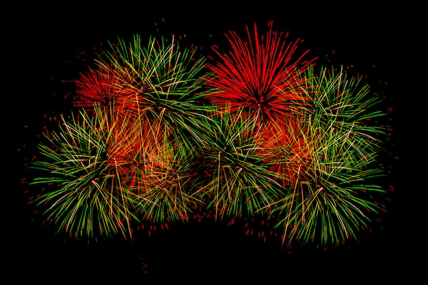 Fireworks for the happy new year