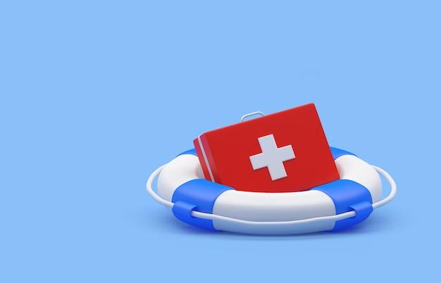 Аптечка в спасательном круге
