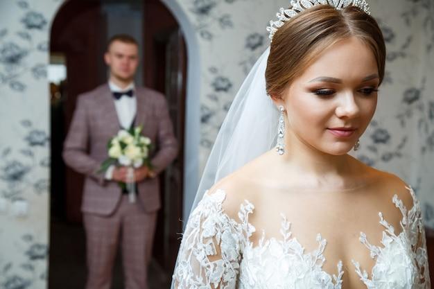 結婚式当日の新郎新婦の初対面