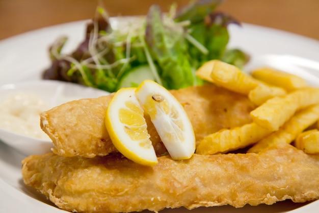 Рыба и чип