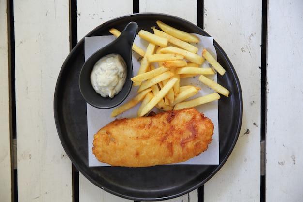 フィッシュアンドチップスの英国料理