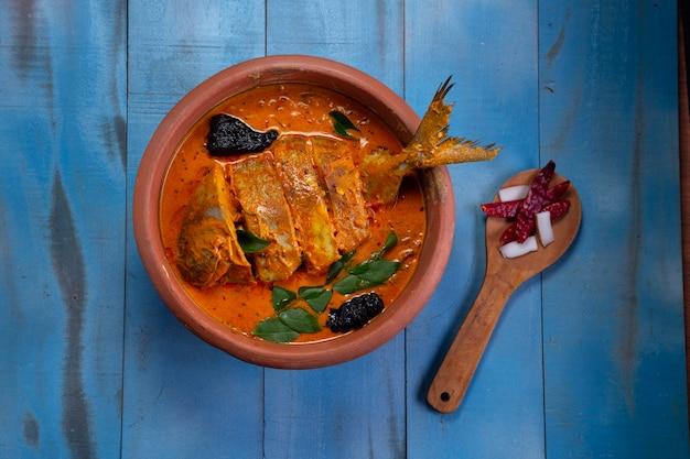 Рыбное карри помфрет карри традиционное индийское рыбное карри керала специальное