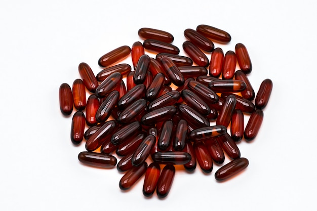 必須脂肪酸の恩恵を受ける魚油ゲルカプセル