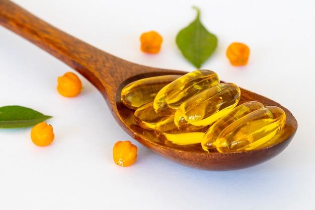 魚油の丸薬ヘルスケアのための栄養補助食品