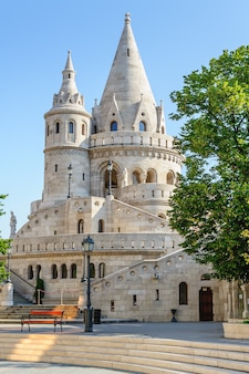Fisher bastion in budapest