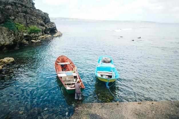 Лодка рыбака