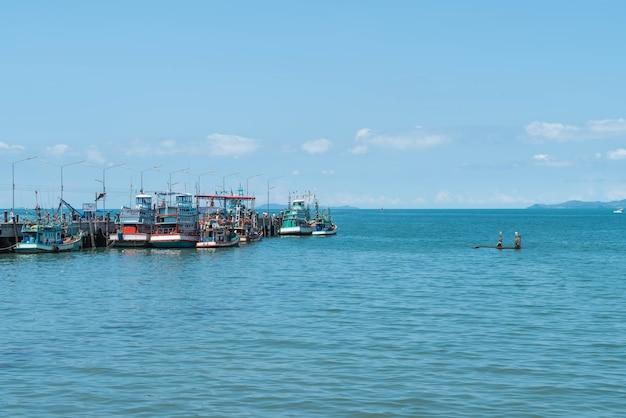Fishing boat port