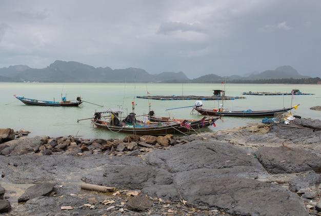 Fishing boat at south of thailand.