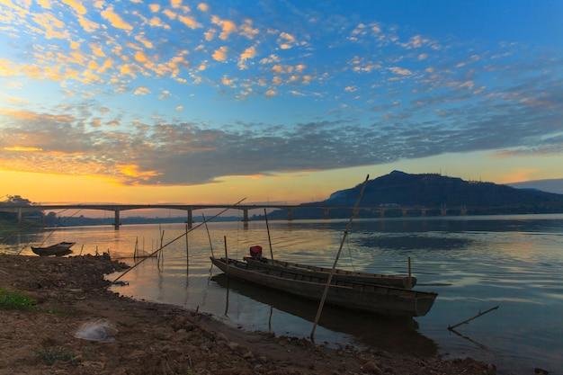 Fishing boats at the mekong river