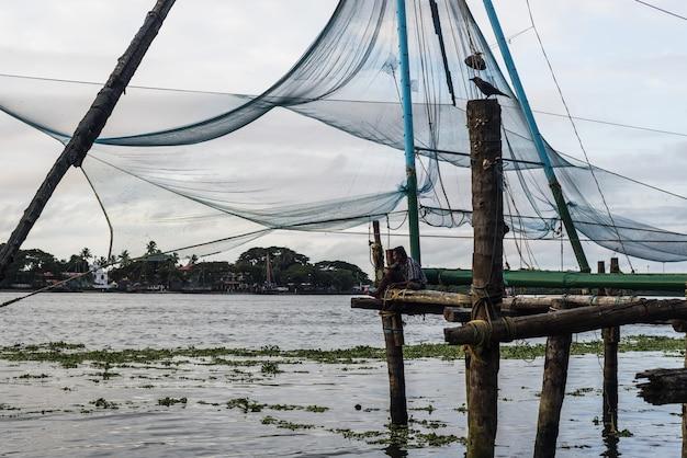 Fishing india traditional fisherman