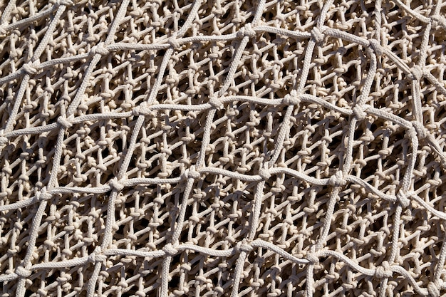 Fishing nets and tackle in andratx port from mallorca