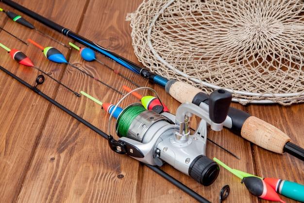 釣り道具釣り竿釣り浮きとルアー