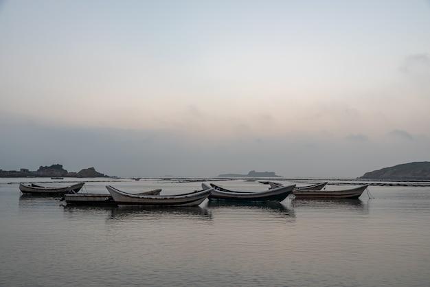Fishing vessels and aquaculture facilities at sea
