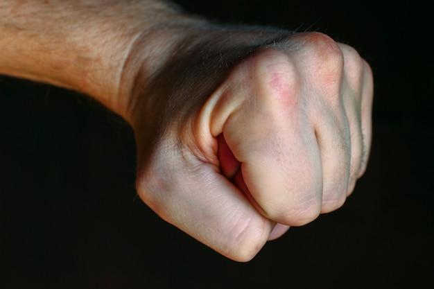 Кулак как символ боевых искусств и агрессии
