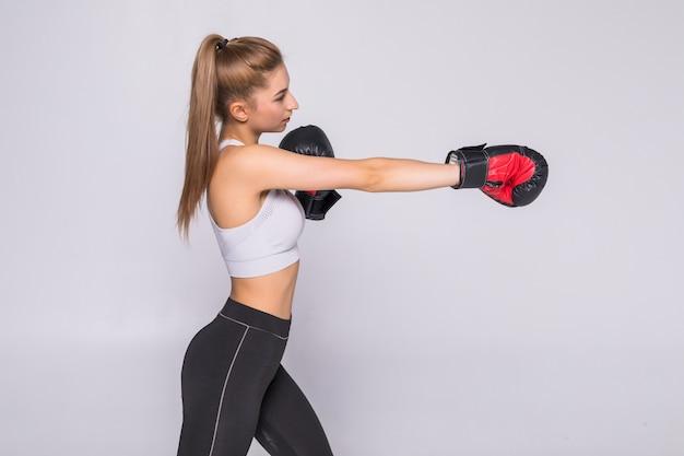 フィット女子ボクシング-孤立