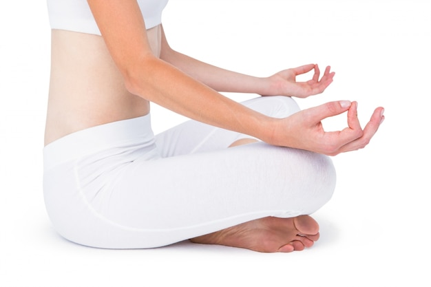 女性の瞑想に合う