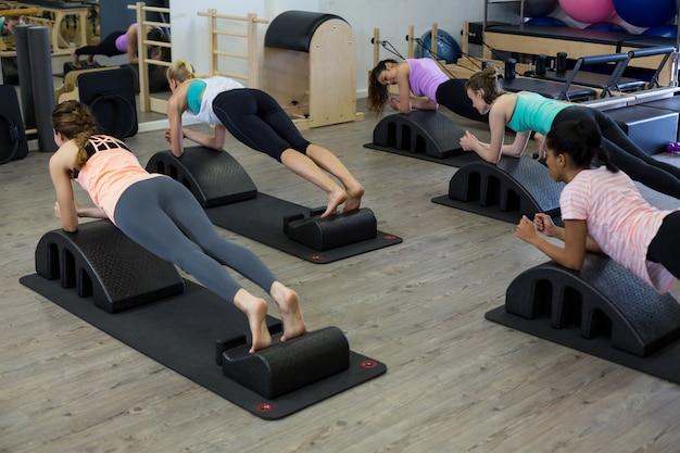 Подходит для женщин, тренирующихся на дуговом стволе