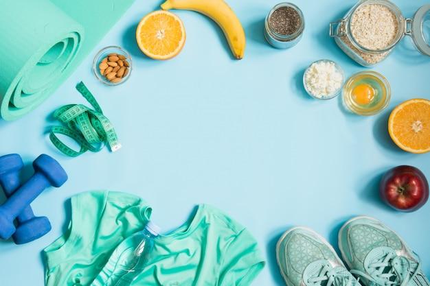 Фитнес и здоровое питание.