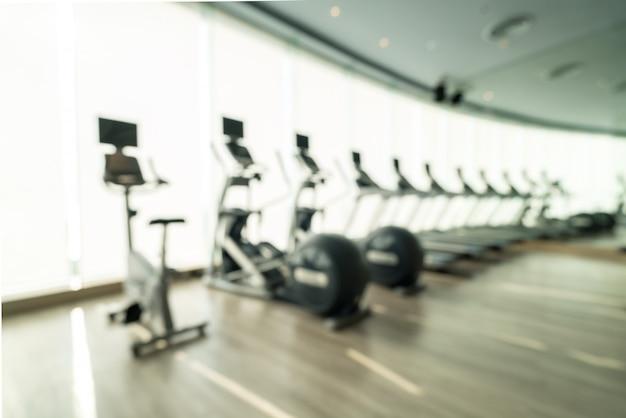 Fitness center background