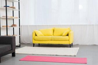 Fitness girl room